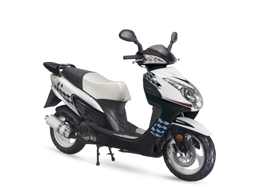 Gas Scooter TS135