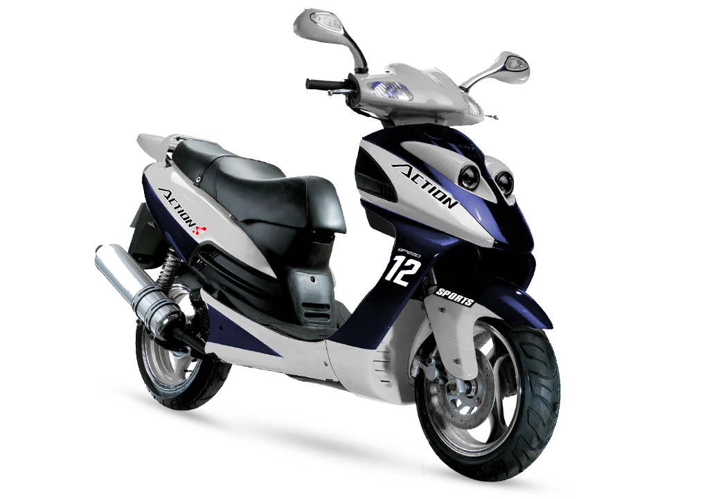 Gas Scooter TS125