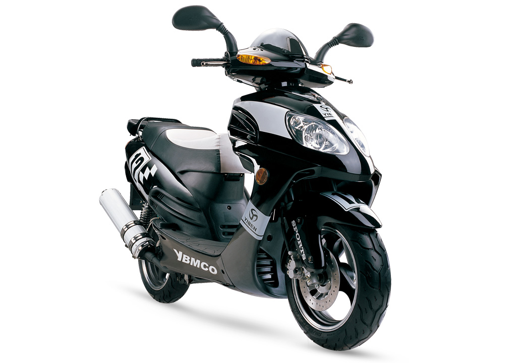 Gas Scooter TS155