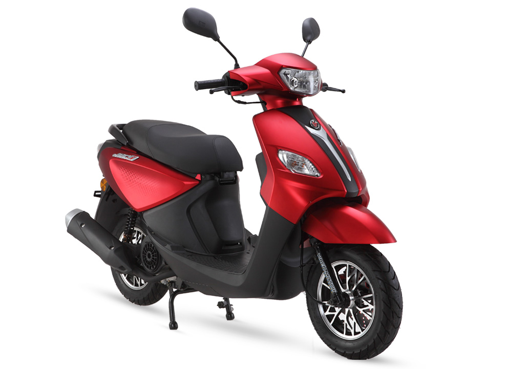 Gas Scooter TS110T-3F