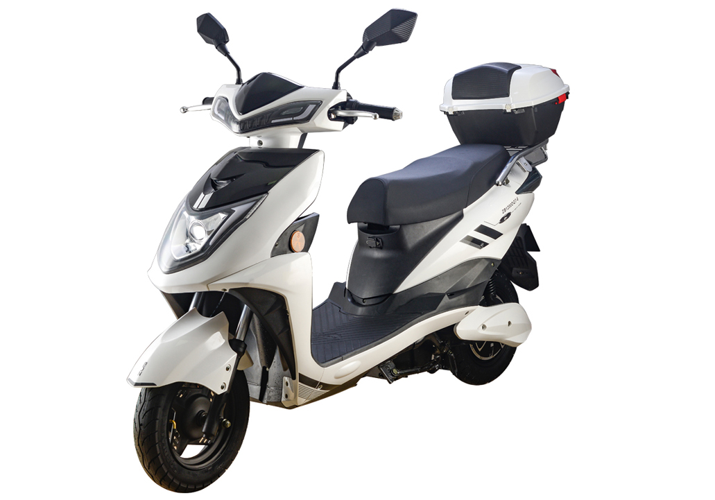 72V 1000W Electric Scooter with Back Rest/Rear Box