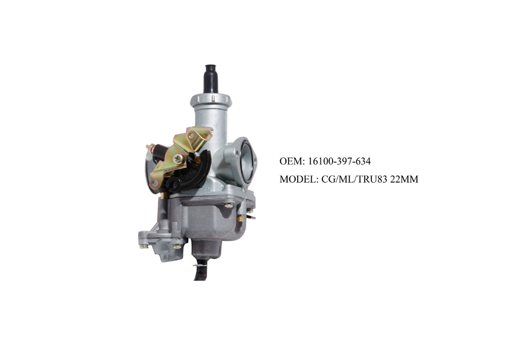 Motorcycle Parts Motorcycle Carburettor For CG/ML /TRU83 22MM